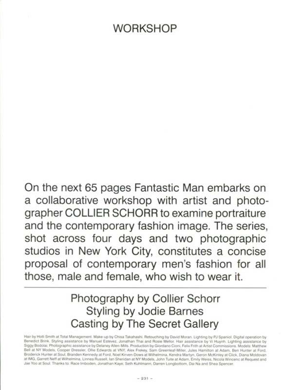 Fantastic Man Editorial